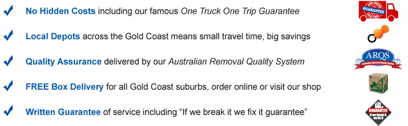 local moves promises removals gold coast